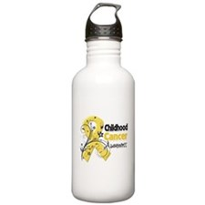 Childhood Cancer Water Bottle
