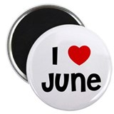 "I * June 2.25"" Magnet (10 pack)"