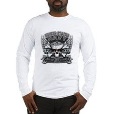 USN Navy 1775 Skull Long Sleeve T-Shirt