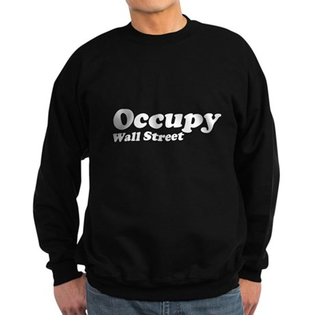 Occupy Wall Street Dark Sweatshirt