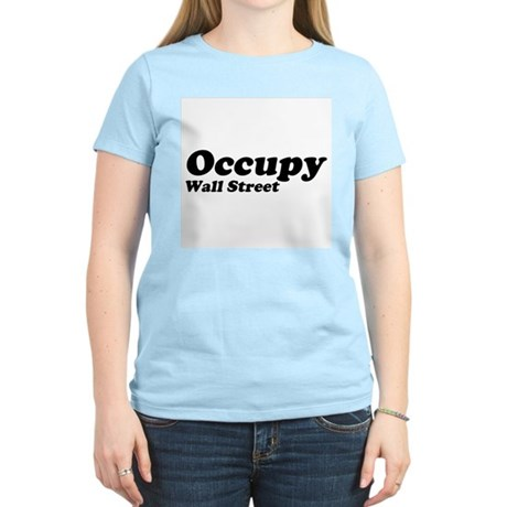 Occupy Wall Street Womens Light T-Shirt