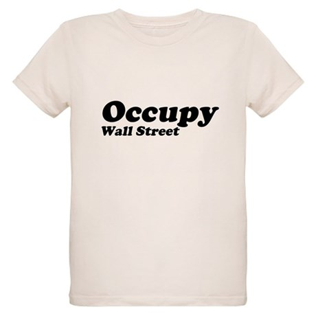 Occupy Wall Street Organic Kids T-Shirt