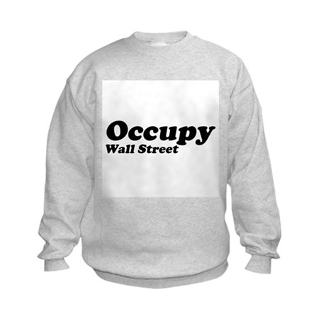 Occupy Wall Street Kids Sweatshirt