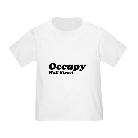Occupy Wall Street Toddler T-Shirt