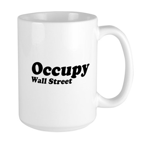 Occupy Wall Street Large Mug