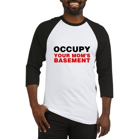 Occupy Your Mom's Basement Baseball Jersey