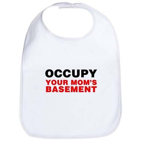 Occupy Your Mom's Basement Bib