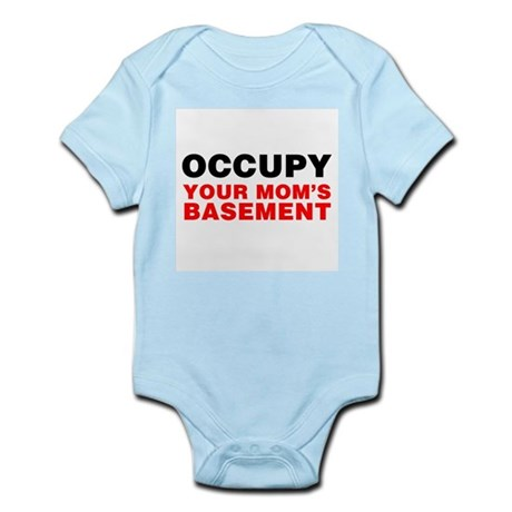 Occupy Your Mom's Basement Infant Bodysuit