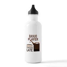 Banjo Player Gift Sports Water Bottle