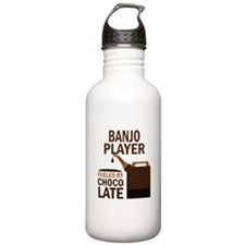 Banjo Player Gift Water Bottle