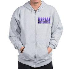 Repeal 5 Purple Zip Hoodie