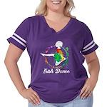 Mallard Drake Head Organic Toddler T-Shirt (dark)