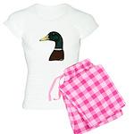 Mallard Drake Head Women's Light Pajamas