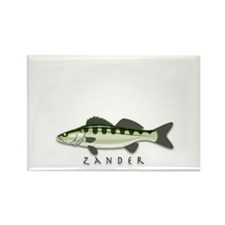 Zander Rectangle Magnet