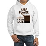 Harp Player Powered By Donuts Hooded Sweatshirt