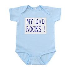 My Dad Rocks ! Infant Creeper