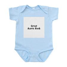 Great Aunts Rock Infant Creeper