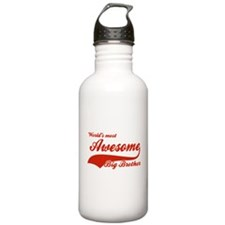 World's Most Awesome Big brother Sports Water Bottle
