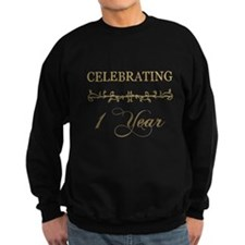 Celebrating 1 Year Sweatshirt