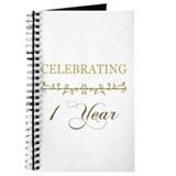 Celebrating 1 Year Journal
