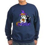 Halloween Ghost Sweatshirt (dark)