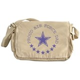 Proud Air Force Dad Messenger Bag