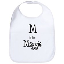 M Is For Maggie Bib