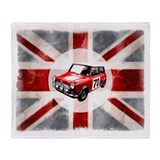 Union Jack and Mini Throw Blanket