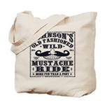 WILD MUSTACHE RIDE Tote Bag