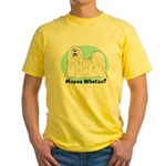 Mopsa Whatso? Yellow T-Shirt