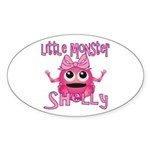 Little Monster Shelly Sticker (Oval)