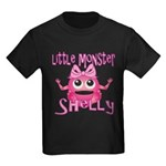 Little Monster Shelly Kids Dark T-Shirt
