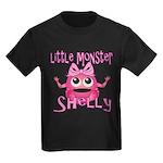 Little Monster Shelly Kids Dark T-Shirt