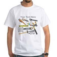 Tools with Gray Text. Shirt