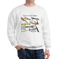 Tools with Gray Text. Sweatshirt