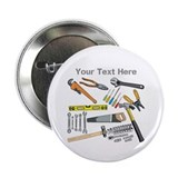Tools with Gray Text. 2.25&quot; Button