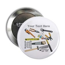 "Tools with Gray Text. 2.25"" Button"