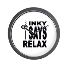 Inky Stringhead Wall Clock
