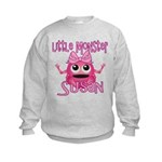 Little Monster Susan Kids Sweatshirt