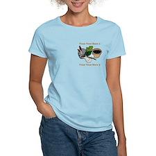 Gardening. Custom Text T-Shirt
