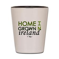 'Home Grown In Ireland' Shot Glass