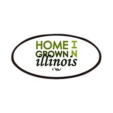 'Home Grown In Illinois' Patches