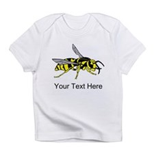Wasp, with Custom Text. Infant T-Shirt