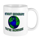 THE WORLD AWAITS Coffee Mug