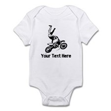 Motocross Infant Bodysuit