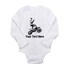 Motocross Long Sleeve Infant Bodysuit