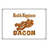Bacon Happiness Banner