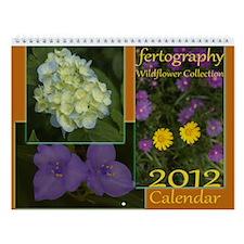 fertography Wildflower Wall Calendar
