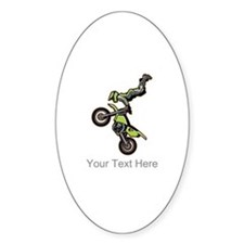 Motocross Jump Decal
