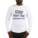 Glider Repair Shop Long Sleeve T-Shirt